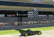 Eduardo Barrichello raced to victory in Saturday's Ricmotech Road to Indy Presented by Cooper Tires iRacing eSeries event at virtual Road America.