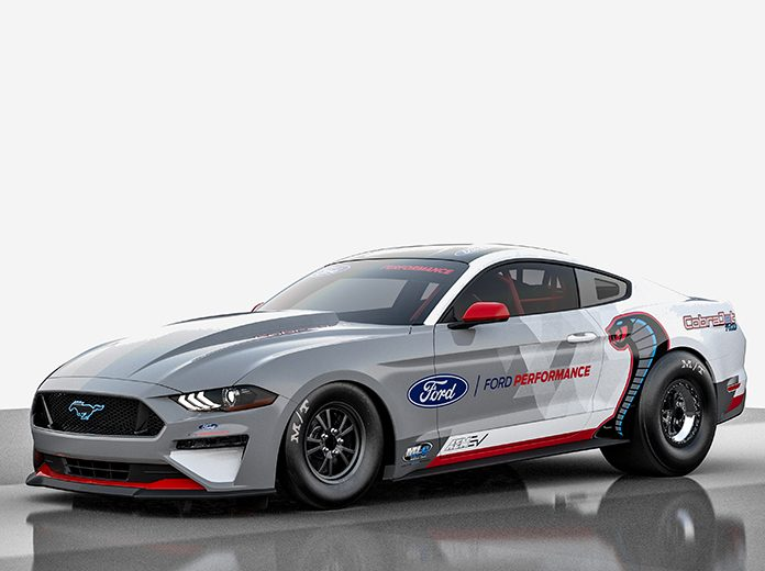 Ford Performance has introduced the new Mustang Cobra Jet factory drag racer with all-electric propulsion.