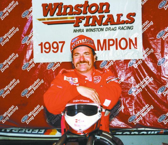 Gary Scelzi won Top Fuel and Funny Car titles in NHRA competition. (NSSN Archives Photo)