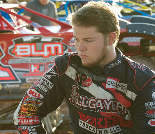 Bobby Pierce turned heads during the Dirt Derby at Eldora Speedway, where he went head-to-head with some of NASCAR's top stars in the Truck Series. (Cristina Cordova Photo)