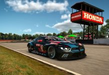 Nicky Catsburg won Thursday's IMSA iRacing Pro Series event at the virtual Mid-Ohio Sports Car Course. (iRacing/LAT Photo)