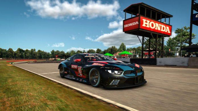 Nicky Catsburg won Thursday's IMSA iRacing Pro Series event at the virtual Mid-Ohio Sports Car Course. (iRacing/LAT Photo)
