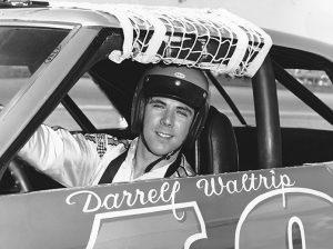Darrell Waltrip in 1973. (NASCAR Photo)
