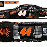 Tommy Joe Martins will carry sponsorship from SkyView Partners during the NASCAR Xfinity Series race at Darlington Raceway on May 19.