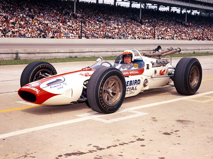 Bobby Marshman in 1964 at Indianapolis Motor Speedway. (IMS Photo)