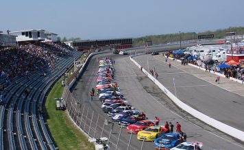 The field for 'The Race' at North Wilkesboro Speedway in 2011. (Adam Fenwick Photo)