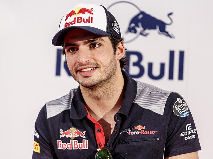 Carlos Sainz will join Scuderia Ferrari beginning in 2021. (Red Bull Photo)