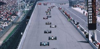 Field for 1995 Indianapolis 500. (IMS Photo)