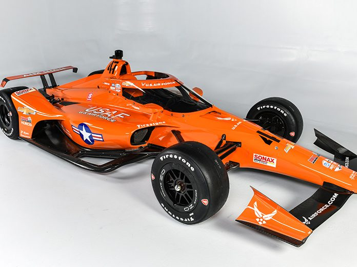 Ed Carpenter Racing and the U.S. Air Force have revealed the car Conor Daly will drive in the Indianapolis 500 later this year.