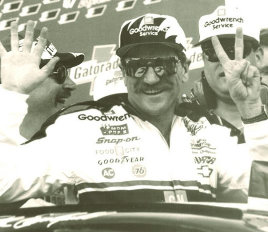 Dale Earnhardt claimed his seventh NASCAR Cup Series title in 1994 at North Carolina Motor Speedway. (NSSN Archives Photo)