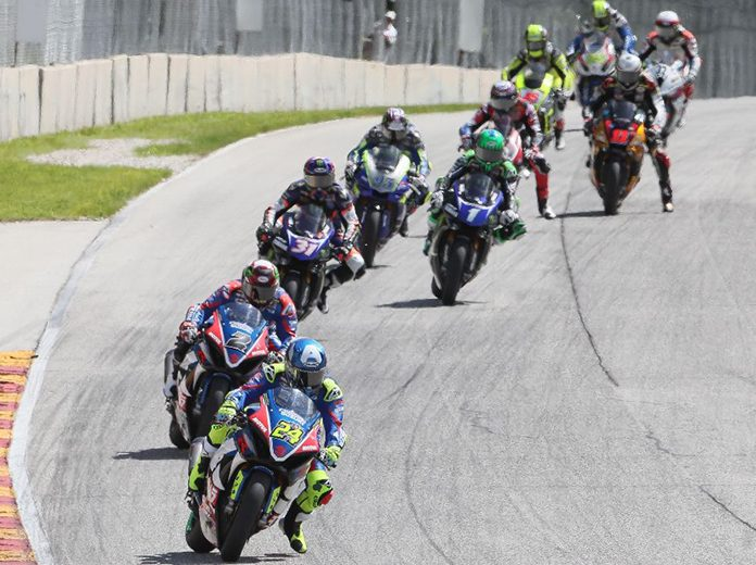 MotoAmerica's season opening weekend will air live on television courtesy of FOX Sports. (Brian J. Nelson Photo)