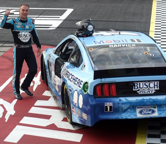 Harvick Wins 50th Cup