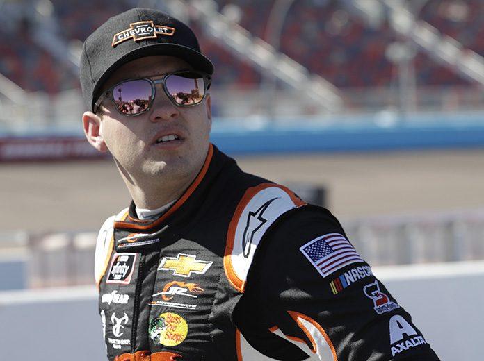 Noah Gragson will lead the field to the green flag for Tuesday's NASCAR Xfinity Series race at Darlington Raceway. (HHP/Harold Hinson Photo)