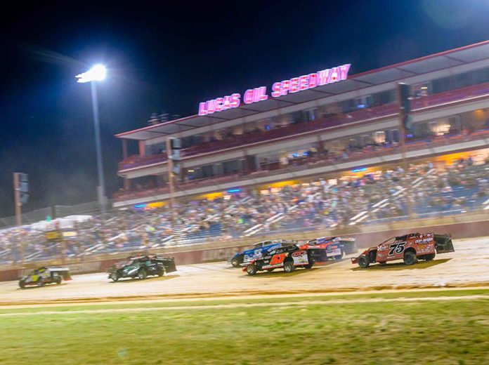 The USMTS Modifieds and USRA Iron Man Stock Cars are coming to Lucas Oil Speedway on Wednesday, June 3. (Kenny Shaw photo)