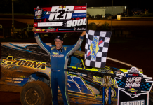 Richie Pratt Jr. won Friday's STSS modified feature at North Carolina's Tri-County Raceway. (STSS photo)