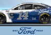 Built Ford Proud will be highlighted on Clint Bowyer's No. 14 Ford this weekend at Bristol Motor Speedway.