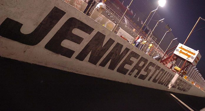 Jennerstown Speedway will host the NASCAR Whelen Modified Tour opener on June 21. (Howie & Mary Hodge/NASCAR Photo)