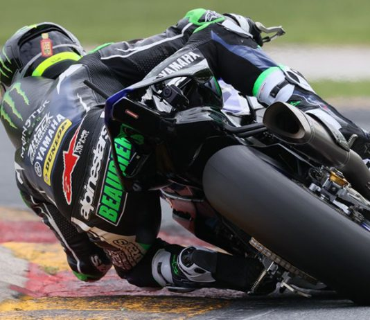 Monster Energy Attack Performance Yamaha's Cameron Beaubier had an impressive opening day at Road America, the Californian smashing the outright lap record as MotoAmerica action got started in Elkhart Lake, Wis. (Brian J. Nelson Photo)