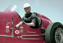 Bob Sweikert won the 1955 running of the Indianapolis 500. (Bob Gates Photo Collection)