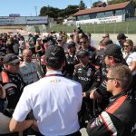Tim Cindric (center) is leading Team Penske's return to NTT IndyCar Series competition. (IndyCar photo)