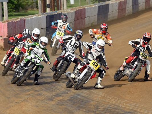 The AMA All-Star National Flat Track Tour will open the season at the Terre Haute Action Track. (David Nearpass Photo)