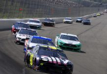 NASCAR Sets Third Portion