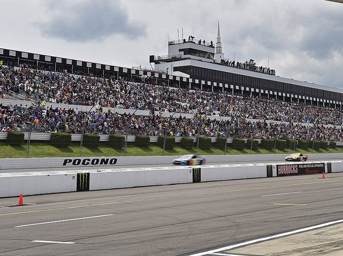 Pocono Raceway remains on track to host a NASCAR Cup Series doubleheader in late June. (HHP/David Tulis Photo)