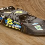 Kyle Strickler Thursday night at Eldora Speedway. (Paul Arch photo)