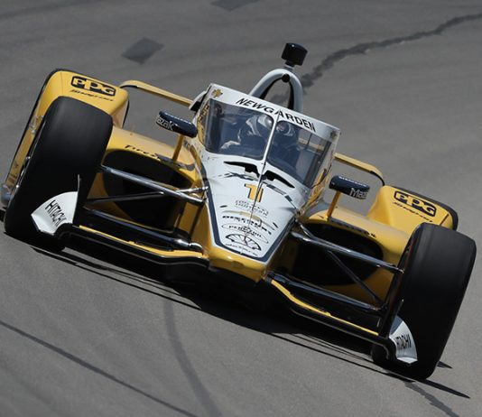 Josef Newgarden will start from the pole during Saturday's NTT IndyCar Series opener at Texas Motor Speedway. (IndyCar Photo)
