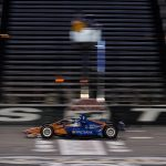 Scott Dixon crosses the finish line to win Saturday's NTT IndyCar Series opener at Texas Motor Speedway. (IndyCar Photo)