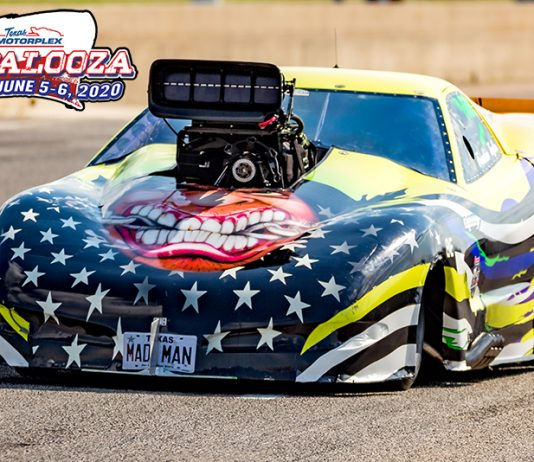 Frankie Taylor won the Pro Extreme portion of the ADRL Dragpalooza event at the Texas Motorplex. (Jason Dunn Photo)