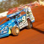 Matt Sheppard, shown here in May at South Carolina's Cherokee Speedway, won Sunday's Short Track Super Series feature at Potomac Speedway. (Adam Fenwick Photo)