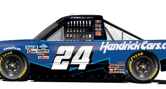 HendrickCars.com will back GMS Racing and Chase Elliott in Saturday's NASCAR Gander RV & Outdoors Truck Series event at Homestead-Miami Speedway.
