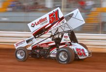 Freddie Rahmer at Selinsgrove Speedway. (Dan Demarco photo)