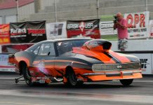Jim Halsey is the top qualifier in the PDRA Pro Nitrous field so far during the Carolina Showdown at Darlington Dragway. (Roger Richards Photo)