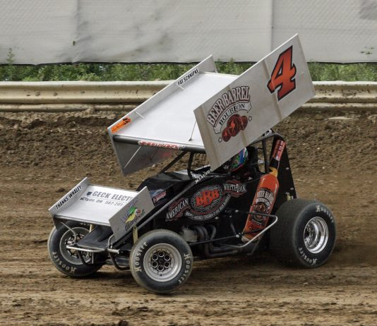 Cap Henry at Wayne County Speedway. (Todd Ridgeway photo)