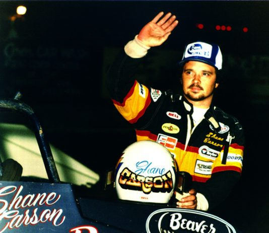 Shane Carson enjoyed a lengthy and successful sprint car career.