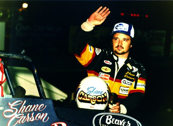 Shane Carson enjoyed a lengthy and successful sprint car career.