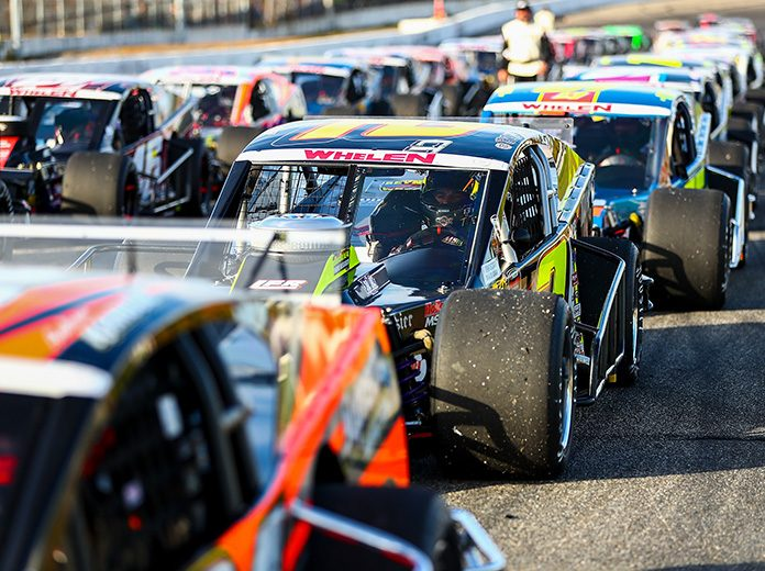 The NASCAR Whelen Modified Tour, whose roots date back to 1948, will make its first visit to White Mountain Motorsports Park on Saturday, July 4. (Adam Glanzman/NASCAR Photo)