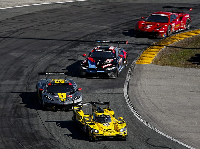 Daytona Int'l Speedway will welcome 5,000 fans for the upcoming IMSA WeatherTech 240 At Daytona. (IMSA Photo)