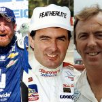 (From left): Dale Earnhardt Jr., Mike Stefanik and Red Farmer have been selected as the 2021 class of the NASCAR Hall of Fame. (NASCAR Photos)