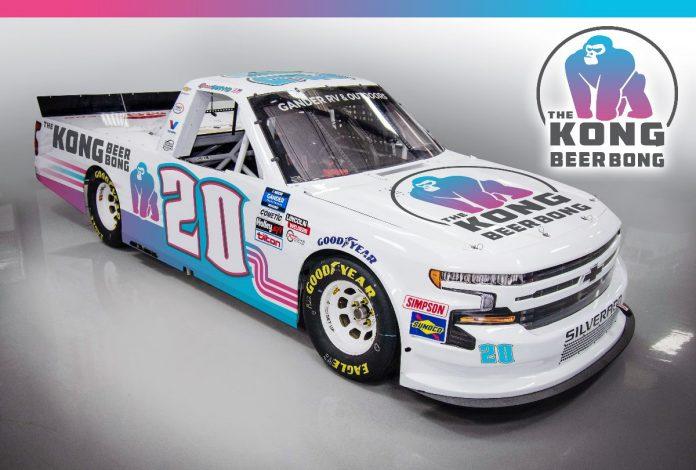 Kong Beer Bong is set to sponsor Spencer Boyd on June 27 when the NASCAR Gander RV & Outdoors Truck Series visits Pocono Raceway.