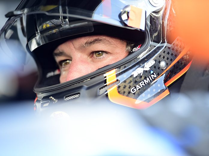 Martin Truex Jr. will start from the pole during Sunday's GEICO 500 at Talladega Superspeedway. (NASCAR Photo)