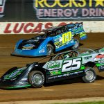 Mid-Week Mayhem next Wednesday at Lucas Oil Speedway, will find the MLRA Late Models and Midwest Mods in action.