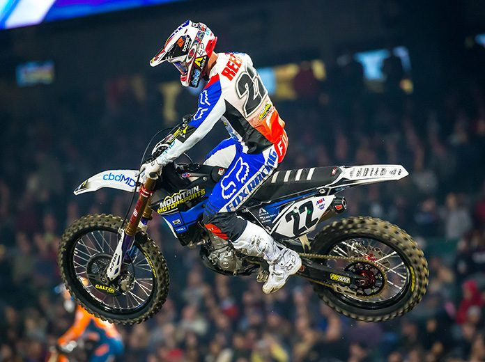 Chad Reed won't say for sure if Sunday's Supercross finale is his final race, but it will definitely be his final race as a full-time competitor. (Feld Entertainment, Inc. Photo)