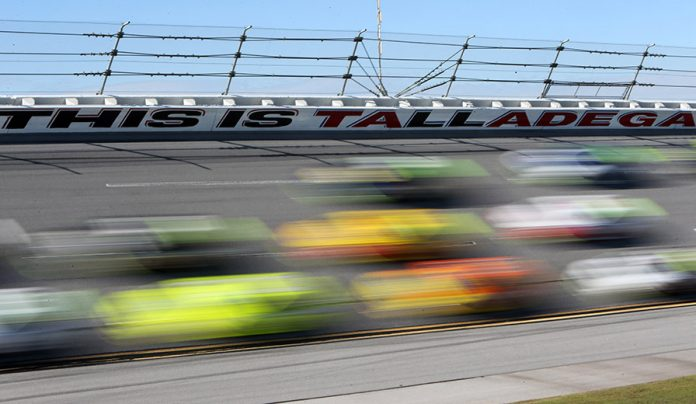 The NASCAR Cup Series GEICO 500 at Talladega Superspeedway has been pushed to Monday by rain. (HHP/Tami Pope Photo)