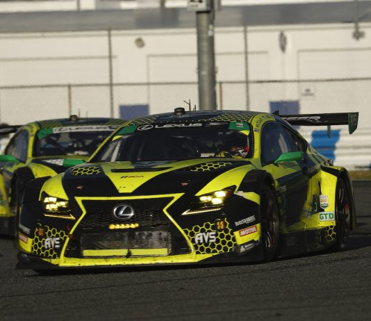 Aaron Telitz will finish the IMSA season with the AIM Vasser Sullivan Lexus team. (IMSA photo)