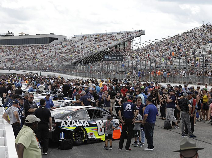 New Hampshire Motor Speedway will have fans in the grandstands for the NASCAR Cup Series event at the track on Aug. 2. (HHP/Garry Eller Photo)