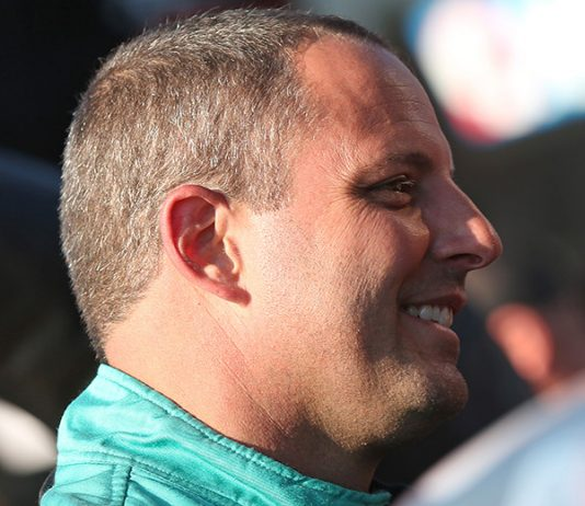 Johnny Sauter will draw from the pole for Saturday's Truck Series race at Pocono Raceway. (Matt Sullivan/Getty Images Photo)