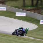 Cameron Beaubier was fastest in MotoAmerica practice on Friday at Road America. (Brian J. Nelson Photo)